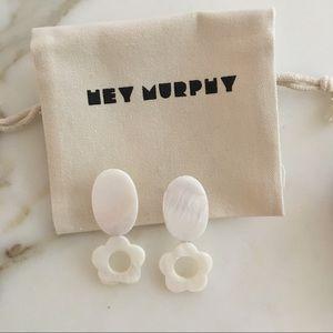 Hey Murphy Mother of Pearl Earrings